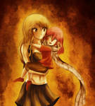 Lucy and Baby Nashi