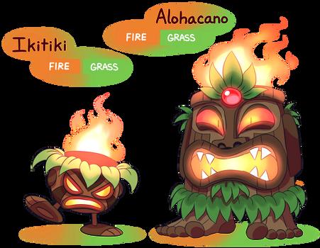 FAKEMON: Ikitiki, Alohacano