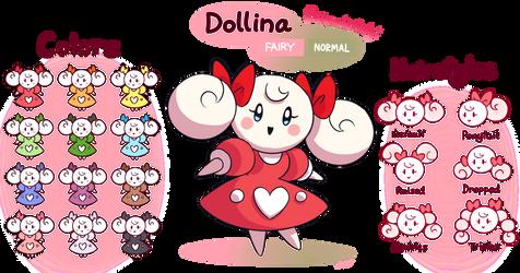 FAKEMON: Dollina by Mast3r-Rainb0w