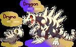FAKEMON: Dryno, Drygon [UPDATED]
