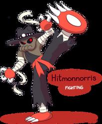 FAKEMON: Hitmonnorris by Mast3r-Rainb0w