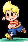 ''Mario+Luigi'' RPG Style: Lucas (Mother 3) by Mast3r-Rainb0w