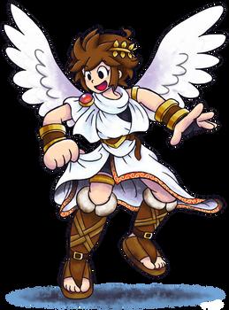 'Mario+Luigi'' RPG Style: Pit (Kid Icarus)
