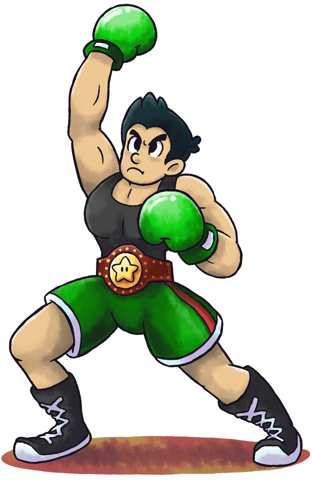 It is a photo of Revered Little Mac Drawing