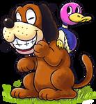 ''Mario+Luigi'' RPG Style: Duck Hunt by Mast3r-Rainb0w