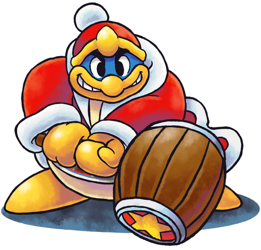 ''Mario+Luigi'' RPG Style: King Dedede by Master-Rainbow