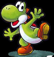 ''Mario+Luigi'' RPG Style: Yoshi by Mast3r-Rainb0w