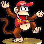 ''Mario+Luigi'' RPG Style: Diddy Kong