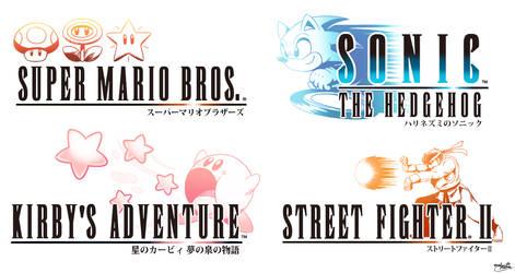 Final Fantasy Logo Crossover Compilation