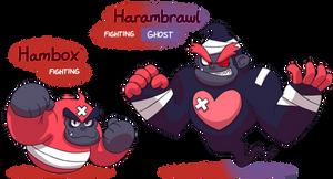 FAKEMON: Hambox, Harambrawl