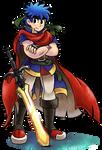 ''Mario+Luigi'' RPG Style: Ike (Fire Emblem) by Mast3r-Rainb0w