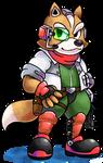 ''Mario+Luigi'' RPG Style: Fox McCloud