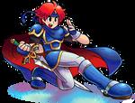 ''Mario+Luigi'' RPG Style: Roy (Fire Emblem) by Mast3r-Rainb0w