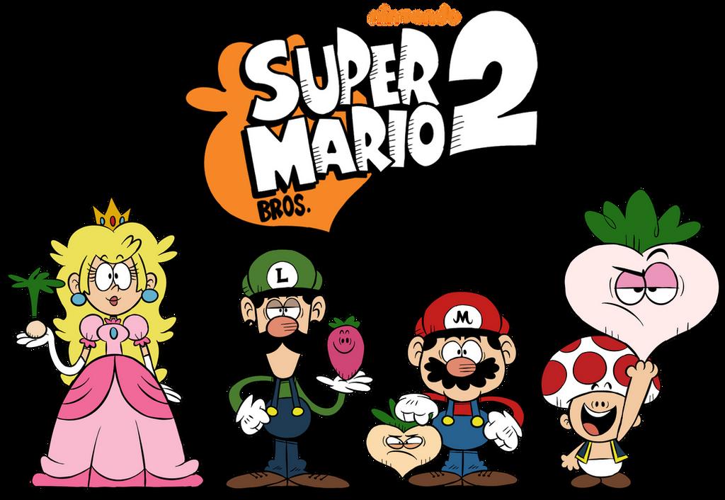 Loud House Style Super Mario Bros 2 By Mast3r Rainb0w On