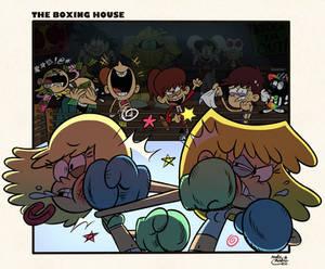 [MM] ''LOUD HOUSE'' Style: Leni vs. Lori BOXING!