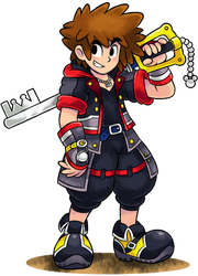 [MM] ''M+L'' RPG Style: Sora (Kingdom Hearts 3) by Mast3r-Rainb0w