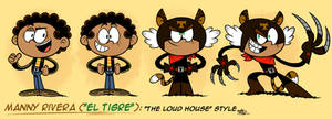 ''LOUD HOUSE'' Style: Manny Rivera [EL TIGRE]