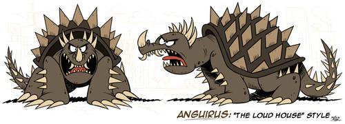 [MM] ''LOUD HOUSE'' Style: Anguirus (Kaiju) by Mast3r-Rainb0w