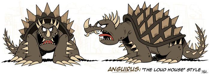 [MM] ''LOUD HOUSE'' Style: Anguirus (Kaiju)