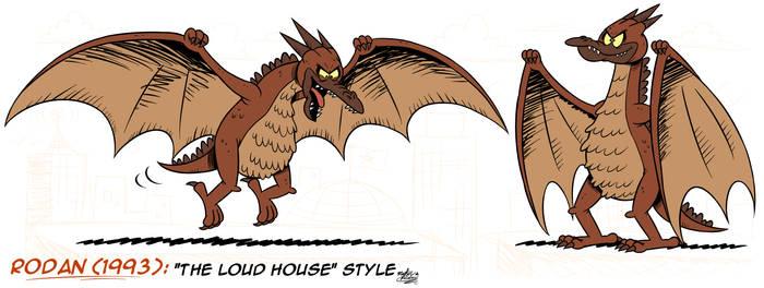 [MM] ''LOUD HOUSE'' Style: Rodan '93 (Kaiju)