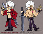 [MM] ''LOUD HOUSE'' Style: Dante (Devil May Cry)
