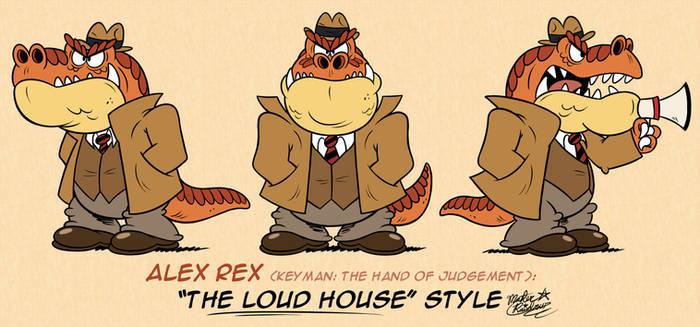 [MM] 'LOUD HOUSE' Style: Alex Rex (KTHOJ)