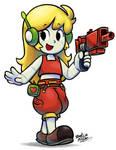 [MM] 'Mario+Luigi' RPG Style: Curly Brace by Mast3r-Rainb0w