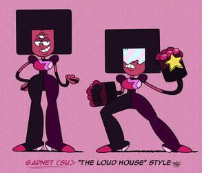 [MM] 'LOUD HOUSE' Style: Garnet (SU)