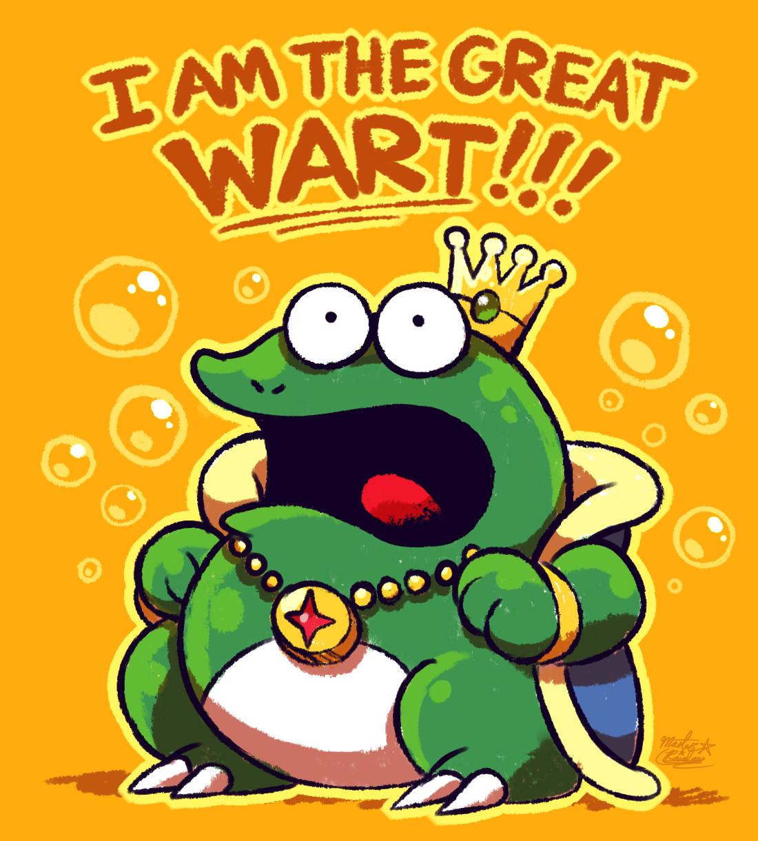 The Great Wart Super Mario Bros 2 By Mast3r Rainb0w On Deviantart