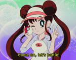 MY ATTEMPT @ 90s Sailor Moon Style - ROSA(Pokemon)