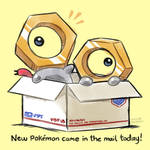 New Pokemon Came in the Mail today!