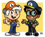 [MM] 'Mario and Luigi' RPG Style: McCloud Bros!