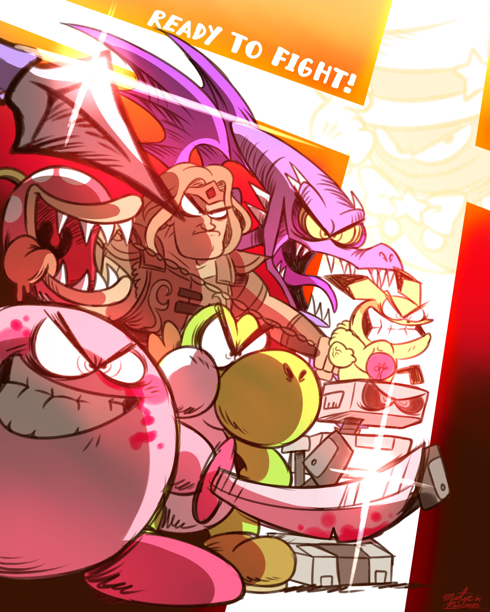 Ready for ULTIMATE! (#DrawYourRosterUltimate)