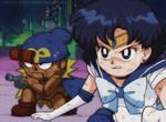 '90sthetic' Style: Sailor Mercury + Geno TEAM UP!