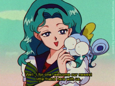 '90sthetic' Style: SOBBLE. Sailor Neptune APPROVED