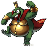[C] 'M+L' RPG Style: King K. Rool (Superstar Saga)