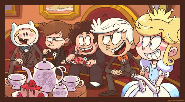 [C] 'MY' Style: A Fancy 2010s Toon Crossover Party by Mast3r-Rainb0w