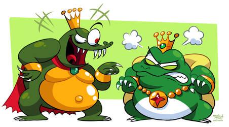Meanest Greenest Nintendo Kings (K. Rool + Wart) by Mast3r-Rainb0w
