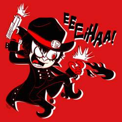 It's Cowboy Joker (Persona 5)! EEEIHAA! by Mast3r-Rainb0w