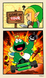 The Great King Wart GOES ON TOUR!