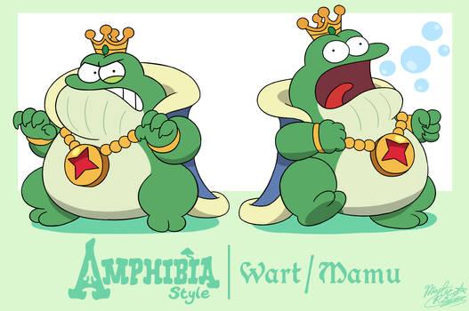 Disney's Amphibia Style: Wart/Mamu