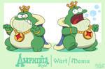 Disney's Amphibia Style: Wart/Mamu by Mast3r-Rainb0w