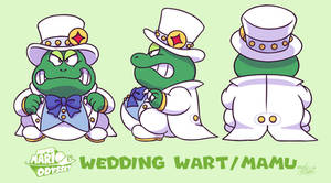 Mario Odyssey Wedding Wart/Mamu [FAN CONCEPT]