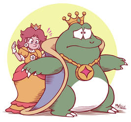Daisy Helping King Wart Become Relevant Again!