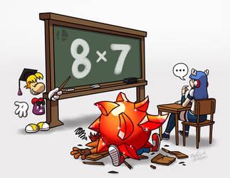 [C] 'MY' Style: Rayman Teaches Yamato n' ...Crash?