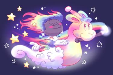 Rainbow Llama Ride [DA 2020 Challenge]