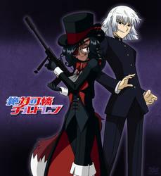 [C] 'ZKC' Style: Asuna (OC) + Kyousuke Hyoubu