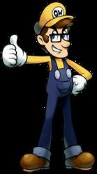 [C] 'Mario+Luigi' RPG Style: The 'Good' Wario (OC)