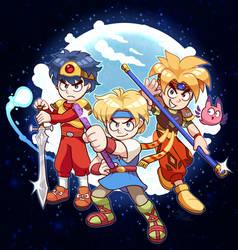The Quintet Action-RPG Trilogy!