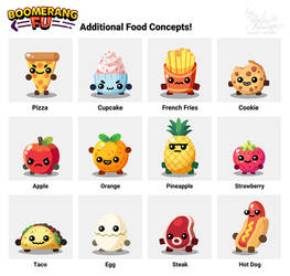 Boomerang Fu: Additional Food Concepts [FANMADE]